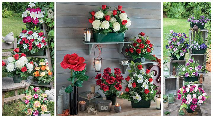 une d co sans effort avec les fleurs artificielles. Black Bedroom Furniture Sets. Home Design Ideas
