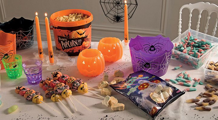 Nos conseils pour une d co de table d 39 halloween r ussie for Decoration de table halloween