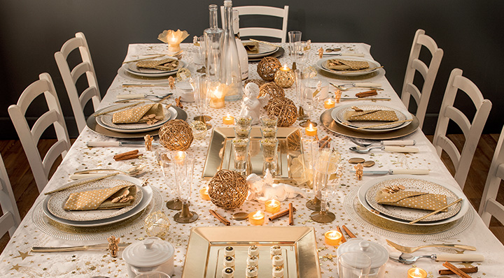 Conseil une d co de table de no l pas cher - Decoration noel pas cher ...