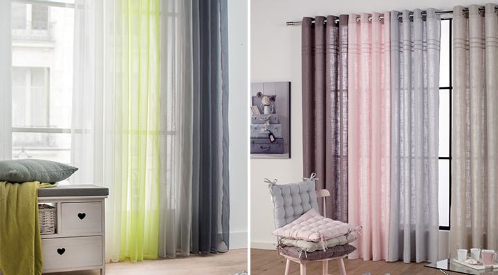 tous les conseils pour bien choisir ses rideaux. Black Bedroom Furniture Sets. Home Design Ideas