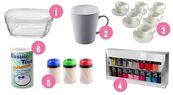 personnaliser un mug avec du vernis. Black Bedroom Furniture Sets. Home Design Ideas