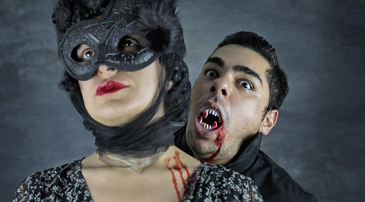 Choisr et créer son déguisement de vampire - Le blog La Foir'Fouille idées festif déguisements