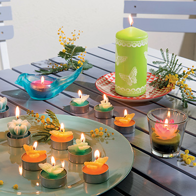 Articles lumineux de décoration pour vos tables
