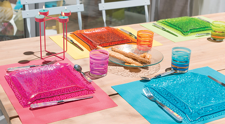 Décoration de tables La Foir'Fouille
