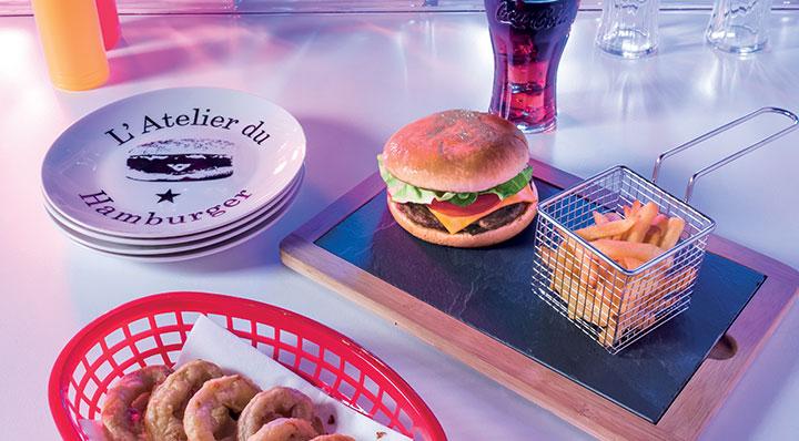 Vaisselle Art de la table pour burgers par La Foir'Fouille