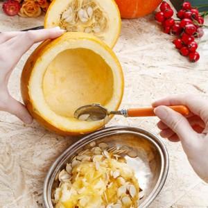 Creuser une citrouille Halloween - La Blog La Foir'Fouille - DIY