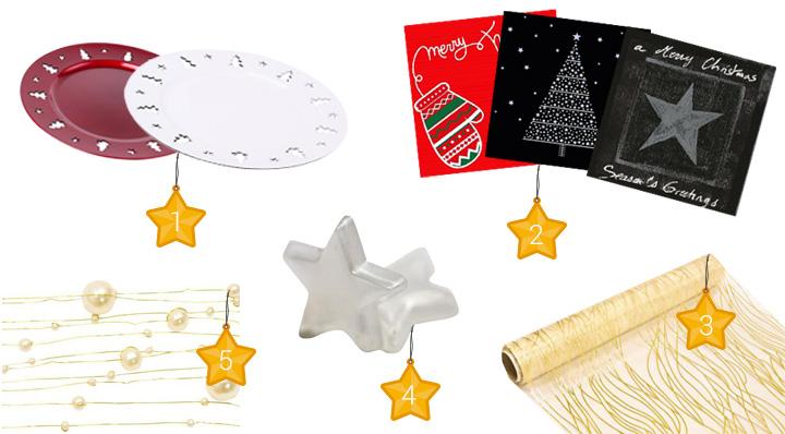 Déco de table de Noël pas cher - Conseils - Le blog de la Foir Fouille