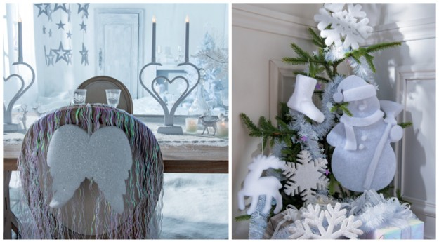 Style: La déco de Noël tendance polaire
