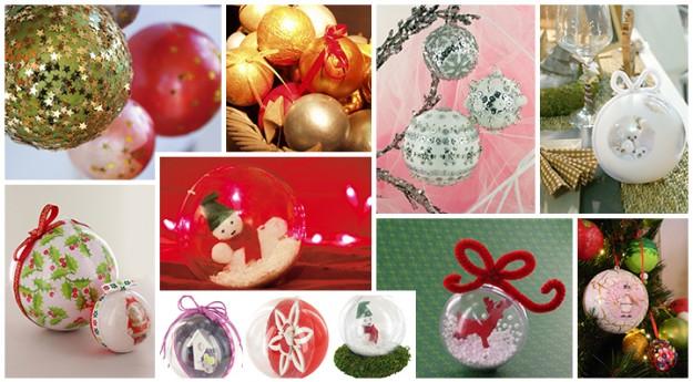 DIY : Réaliser une boule de Noël personnalisée