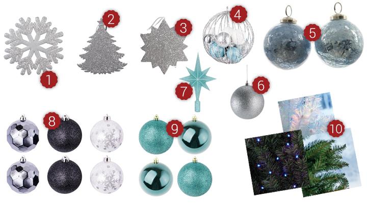 Style - La déco de Noël tendance polaire - Le Blog de la Foir'Fouille