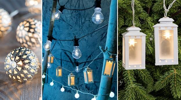 Conseil : Les décorations lumineuses de Noël