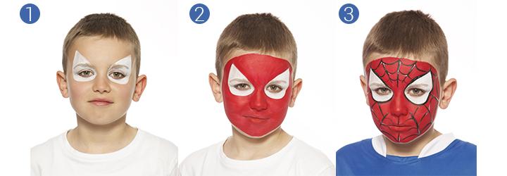 Conseils les maquillages enfants du carnaval - Modele maquillage carnaval facile ...