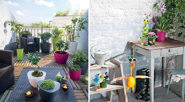 Conseil : 10 idées pour aménager un petit balcon