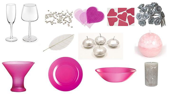 Une table de Saint Valentin parfaite - Conseils déco le Blog de La Foir'Fouille