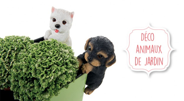 Style : Craquez pour une déco animaux de jardin !