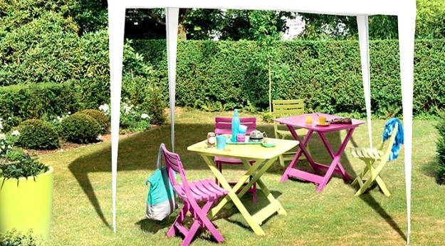 Conseil : Le bon mobilier de jardin pour un espace détente