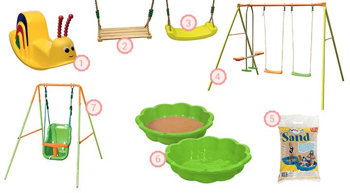 Conseils déco et astuces plein air Blog La Foir'Fouille -Les jeux extérieurs pour enfants