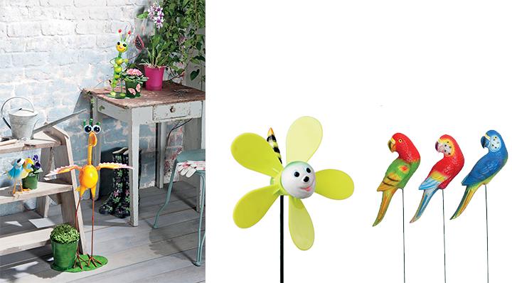 Plus de style déco animaux de jardin - Le Blog de la Foir'Fouille