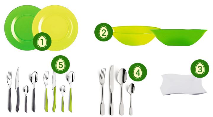 Tout pour une déco de table de Pâques parfaite - Conseils déco - Blog La Foir'Fouille