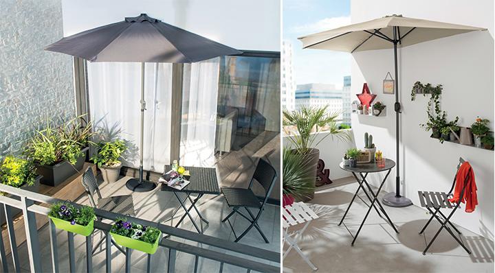 Le Blog déco de la Foir'Fouille - Conseil : bien choisir son parasol déporté