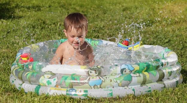 On adore: La piscine gonflable pour enfants
