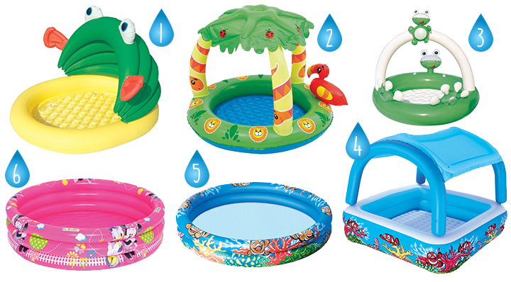 On adore la piscine gonflable pour enfants for Protection enfant piscine