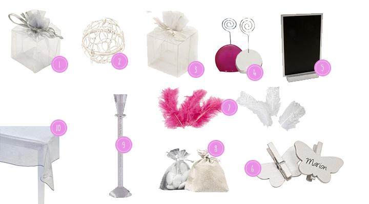 Le Blog La Foir'Fouille - Tout pur un mariage chic et glamour conseils déco