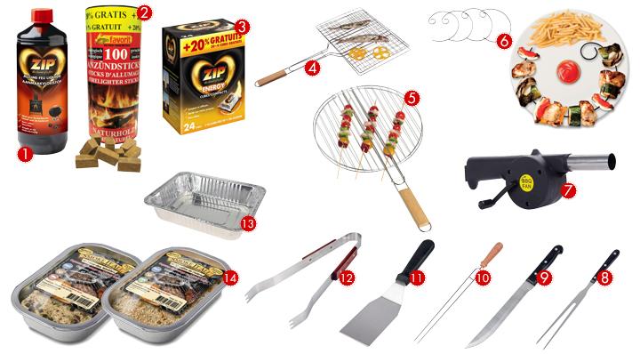 Quels sont les accessoires de barbecue - Conseils astuces plein air La Foir'Fouillle
