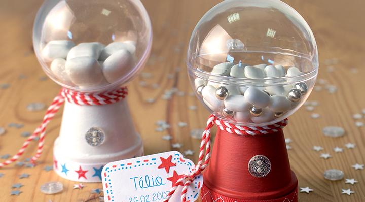 Réaliser une décoration de table de communion - DIY - Le Blog de la Foir'Fouille