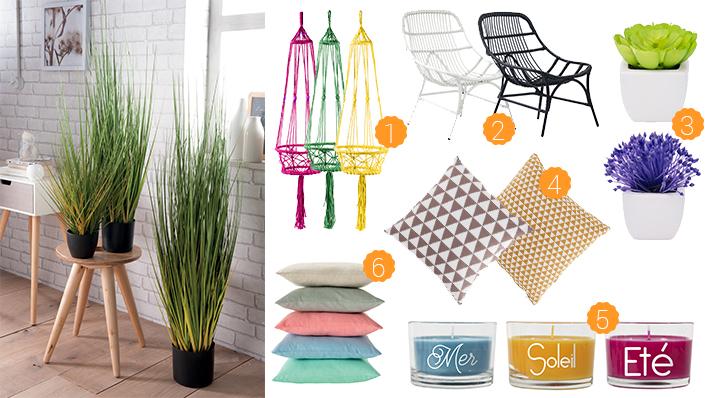 Blog La Foir'Fouille - Style déco tendance - La décoration estivale
