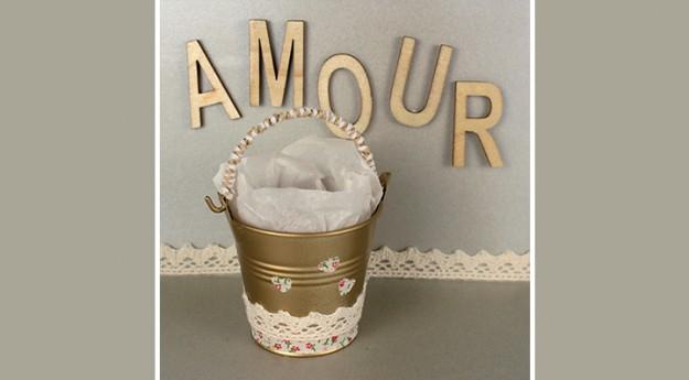 DIY : Un cadeau de table de mariage