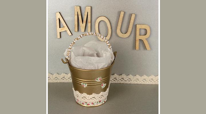 créez un cadeau de table de mariage - Idées mariage - Loisirs créatifs - Blog La Foir'Fouille