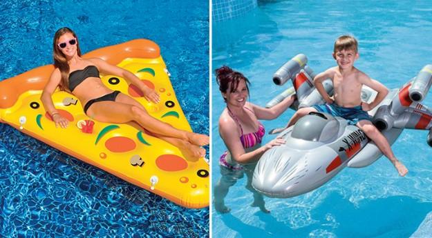 On adore: Les accessoires gonflables de piscine