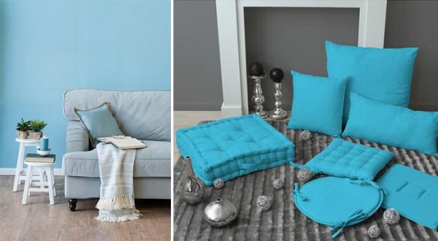 Style : Adoptez la décoration bleue !