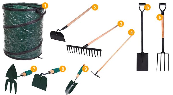 outils de jardinage l 39 quipement indispensable. Black Bedroom Furniture Sets. Home Design Ideas