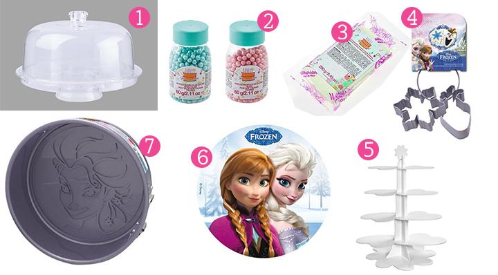 Anniversaire Frozen - Goûter enfants - Le Blog de La Foir'Fouille