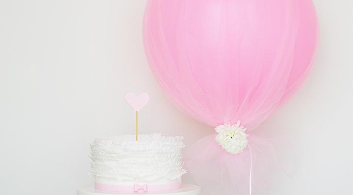 DIY - Réaliser un ballon de mariage avec du tulle - Blog La Foir'Fouille - Tendance