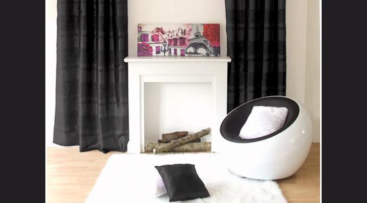 Blog La Foir'Fouille - La décoration noir et blanc