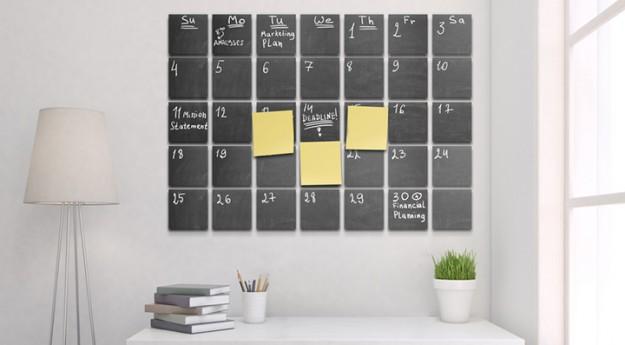 DIY : Créez votre calendrier ardoise