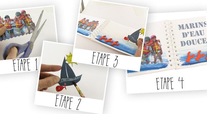 DIY - Album photos enfants - Loisirs créatifs enfants - Blog La Foir'Fouille
