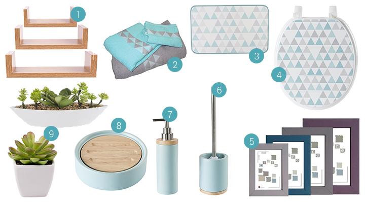 Blog La Foir'Fouille - Décorer les toilettes - style tendance déco maison