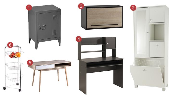 Nos 5 astuces pour aménager un petit espace avec style - Blog La Foir'Fouille conseils astuces déco