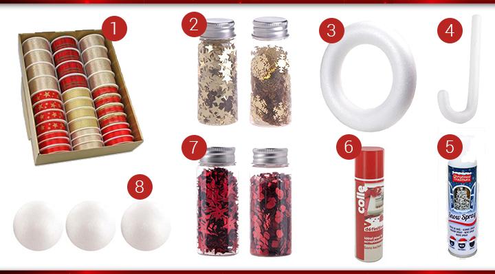 Suivez notre tuto pour réaliser une élégante couronne de Noël personnalisée - Blog La Foir'Fouille