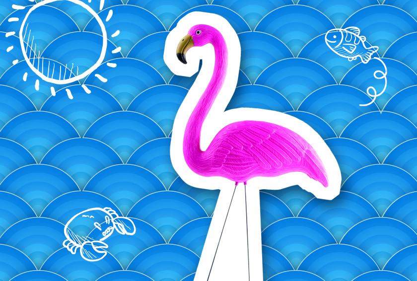 La déco flamant rose - Style - Blog La Foir'Fouille