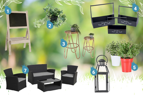style mon jardin industriel blog la foirfouille. Black Bedroom Furniture Sets. Home Design Ideas