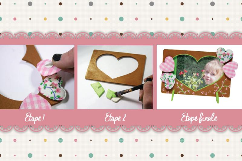 Pour la fête des grand-mères, réalisez un cadre photo personnalisé - DIY - Blog La Foir'Fouille
