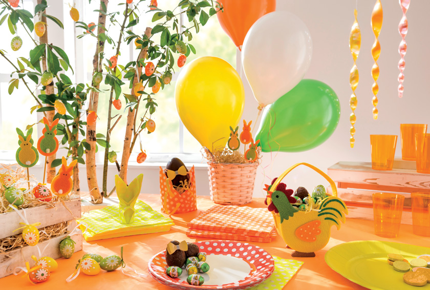 Mes conseils pour dresser une table de Pâques pepsy et colorée - Blog La Foir'Fouille