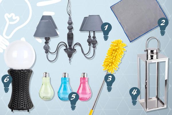 Conseil : Nettoyer ses luminaires