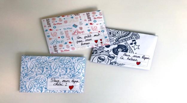 DIY : 3 enveloppes à imprimer