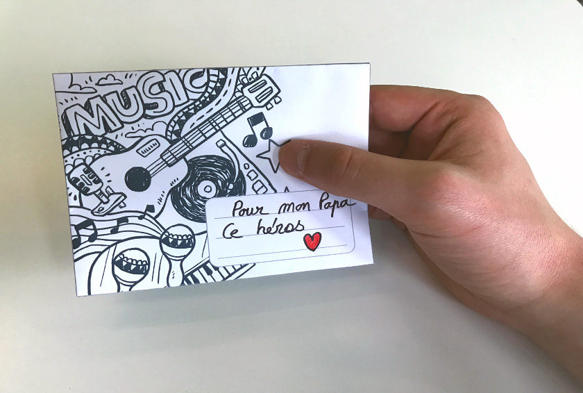 Blog La Foir'Fouille - 3 enveloppes à imprimer - DIY